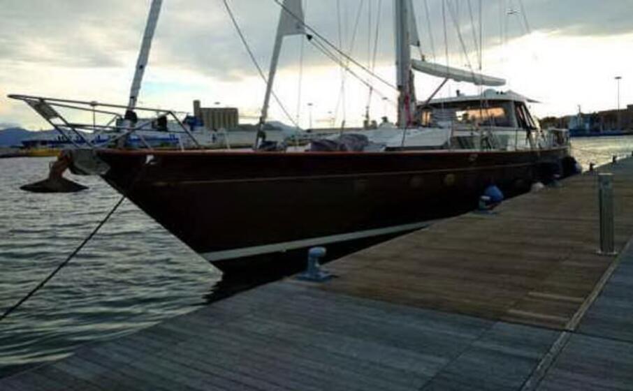 l imbarcazione (foto ufficio stampa)