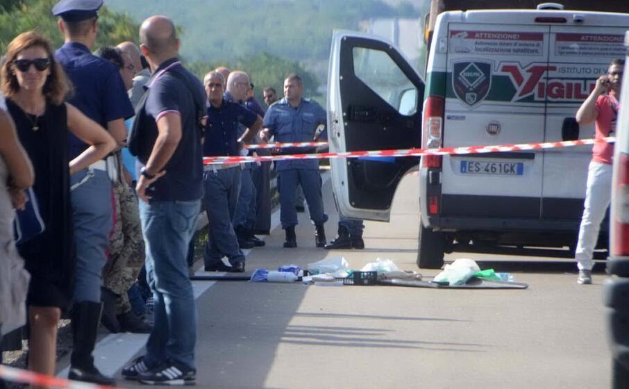 la rapina al furgone blindato nel 2015 vicino a bonorva (l unione sarda)