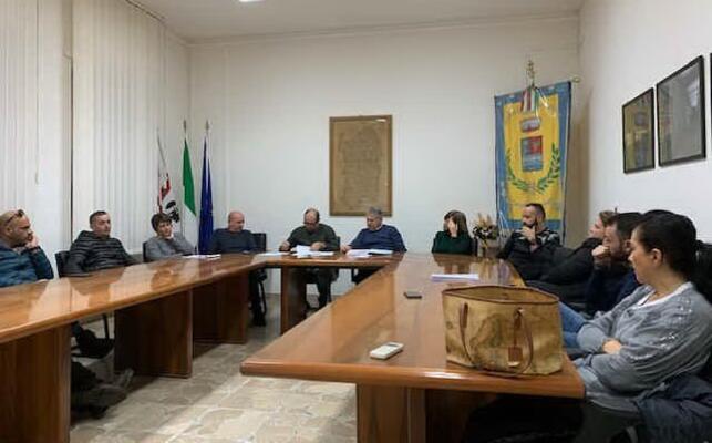 una seduta del consiglio comunale (foto pinna)