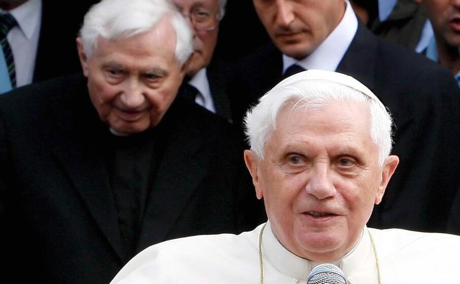 Grave lutto per Benedetto XVI: morto il fratello Georg Ratzinger