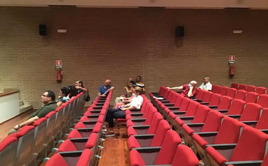 la maggioranza in aula (foto m pala)