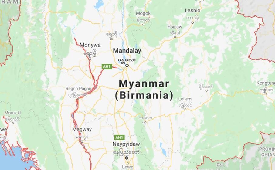 Myanmar, frana in una miniera di giada: almeno 50 morti