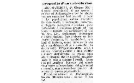 Il primo articolo di Gramsci, nelle colonne de L'Unione Sarda