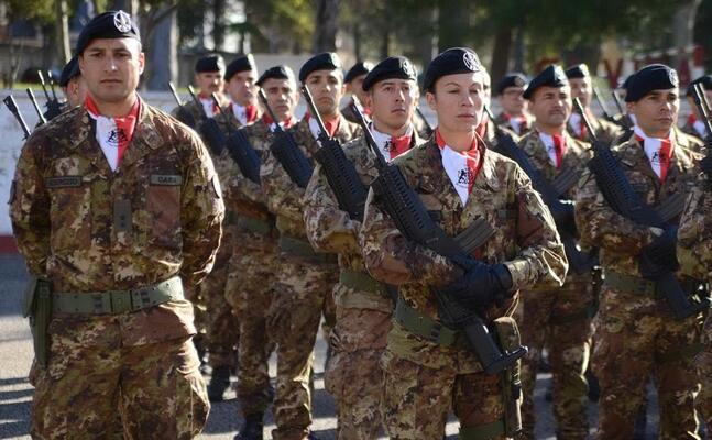 militari della brigata sassari (archivio l unione sarda)
