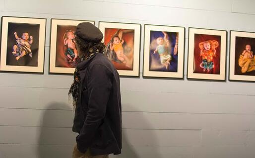 Una mostra del Festival Bifoto (L'Unione Sarda - Pintore)