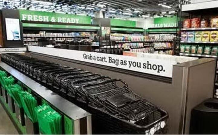 amazon go il primo supermercato del colosso dell e commerce (archivio l unione sarda)