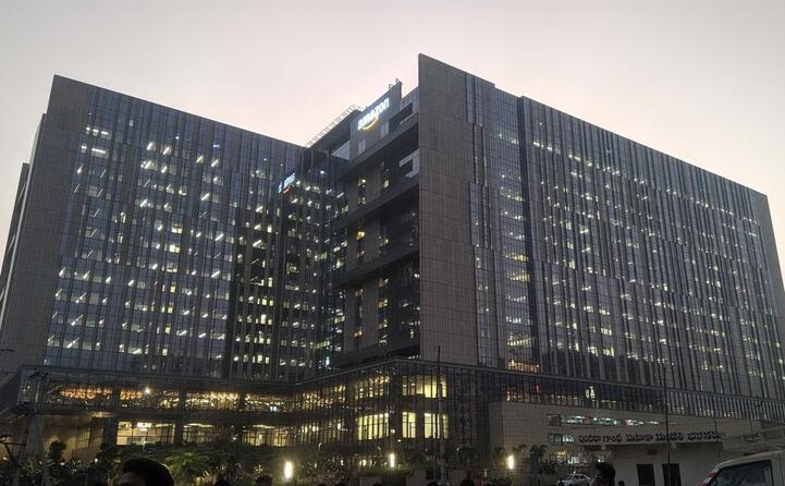 il campus a hyderabad in india (foto wikipedia)