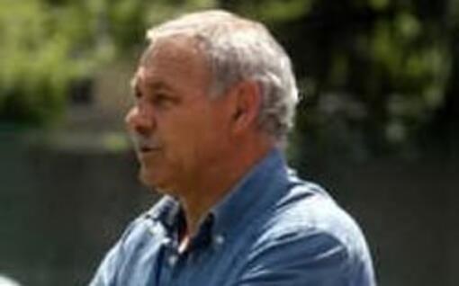L'ex calciatore del Cagliari Carlo Osellame