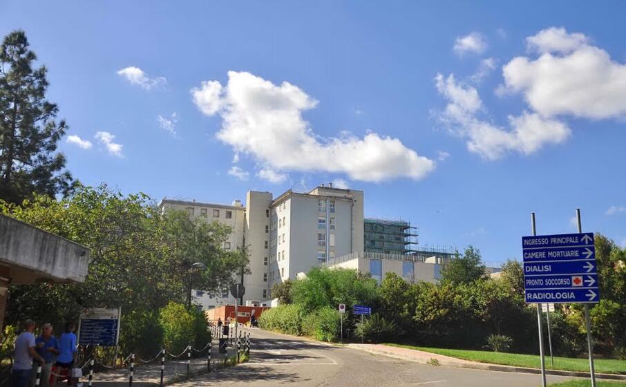 l ospedale san martino di oristano (archivio l unione sarda)