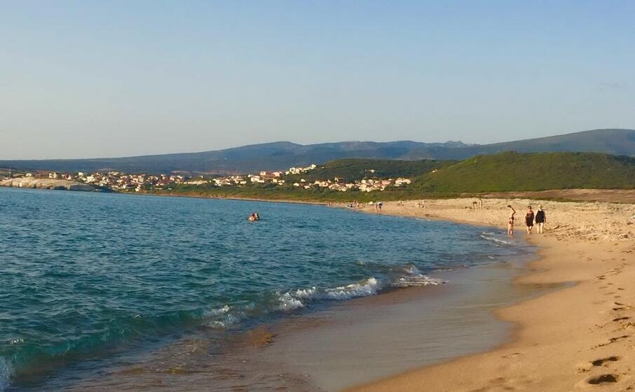 la spiaggia di is arenas (foto sanna)