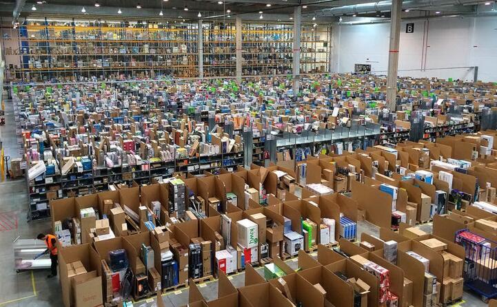 un centro logistico in spagna (foto wikipedia)