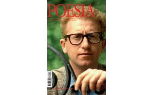 Un numero della rivista. In copertina un giovane Valerio Magrelli