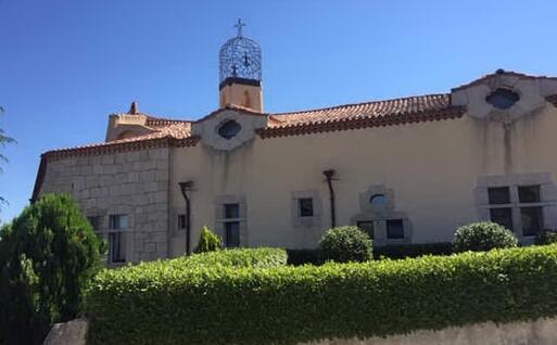 Il campanile del complesso monastico (L'Unione Sarda - Orunesu)