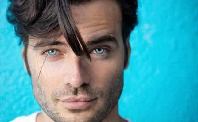 l attore giulio berruti (foto da instagram)