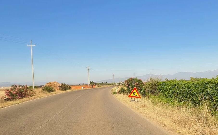 la strada (foto l unione sarda deidda)