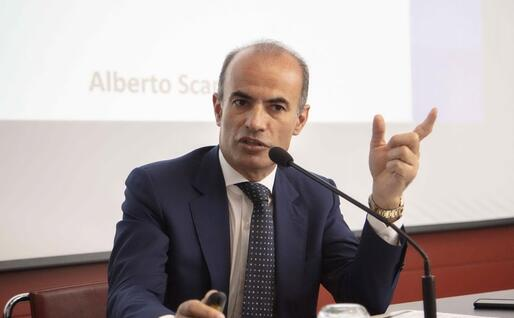 Alberto Scanu (Archivio L'Unione Sarda)
