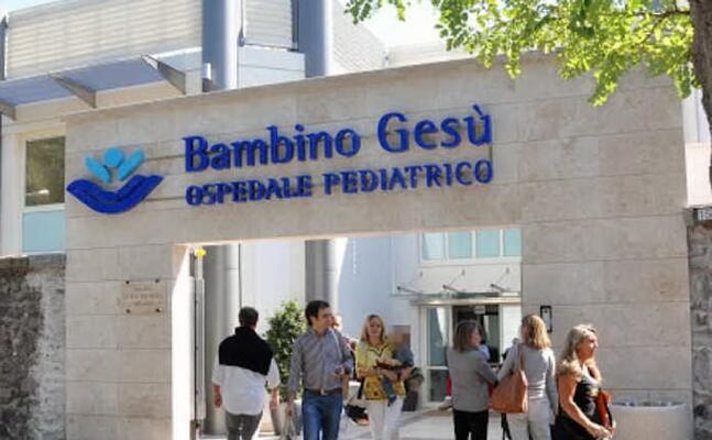 l ospedale pediatrico bambino ges (foto da sito web ufficiale)
