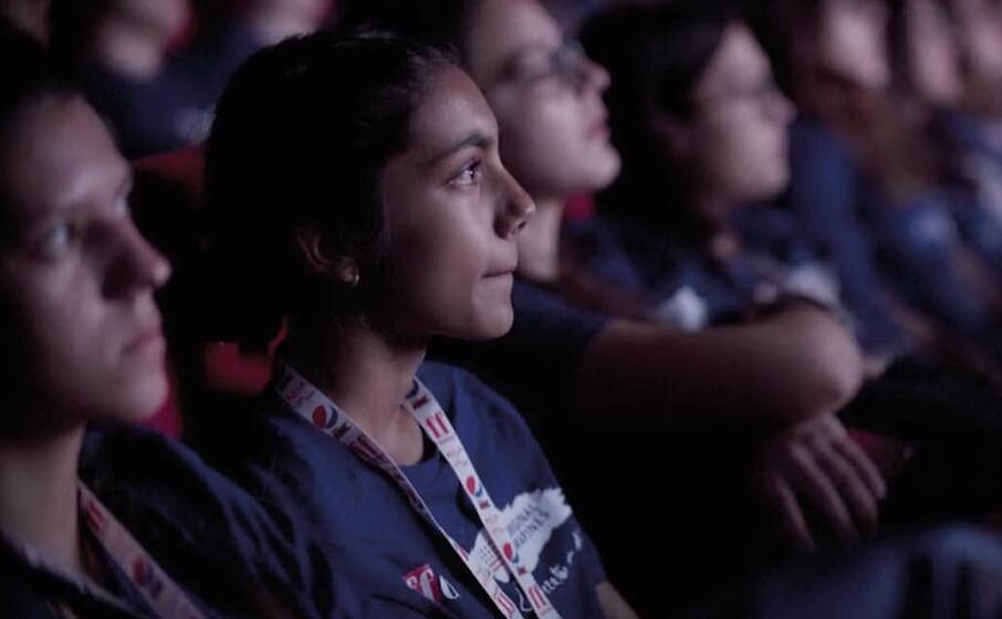 il pubblico del giffoni film festival (foto ufficio stampa)