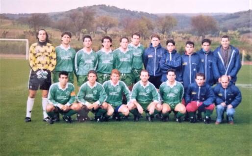 Il Lanusei 1991-92 al suo primo anno in Promozione (foto Ogliastra calcio)