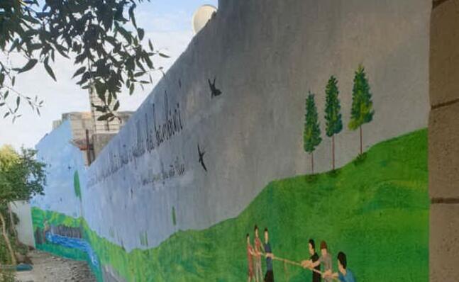 il murale (foto dell autrice)
