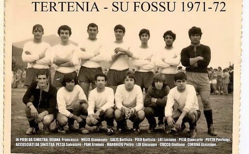 Il Tertenia edizione 1970-71 (foto Ogliastra calcio)