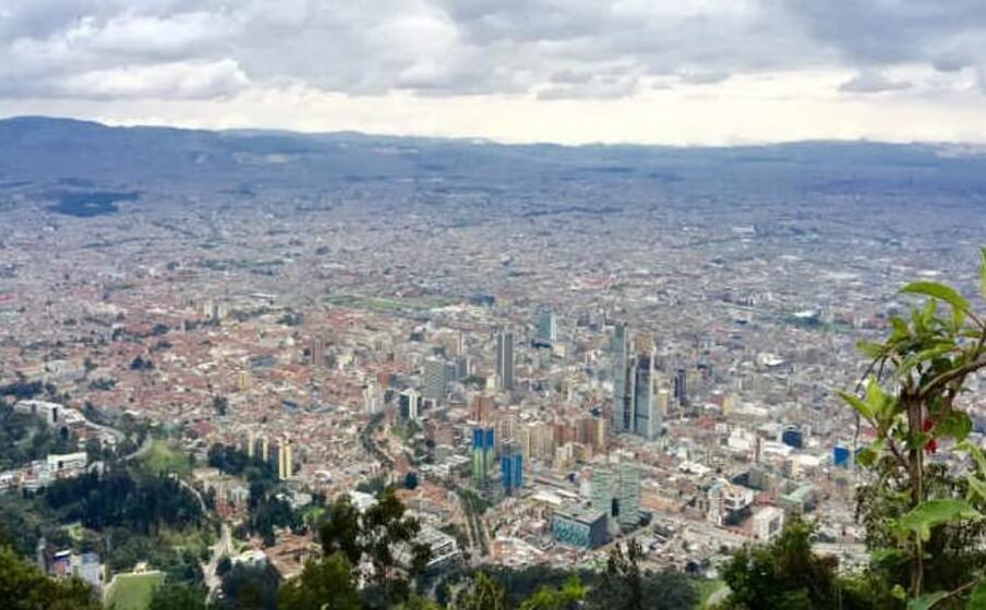 la capitale della colombia (foto da google)