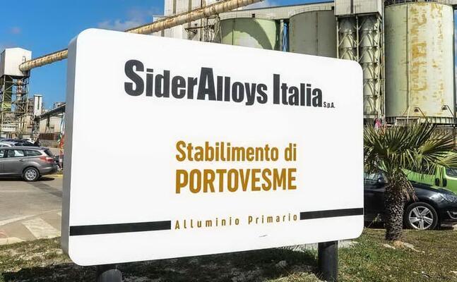 sider alloys (archivio l unione sarda)