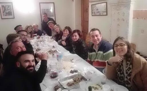 Un'altra immagine da Oliena (foto L'Unione Sarda)