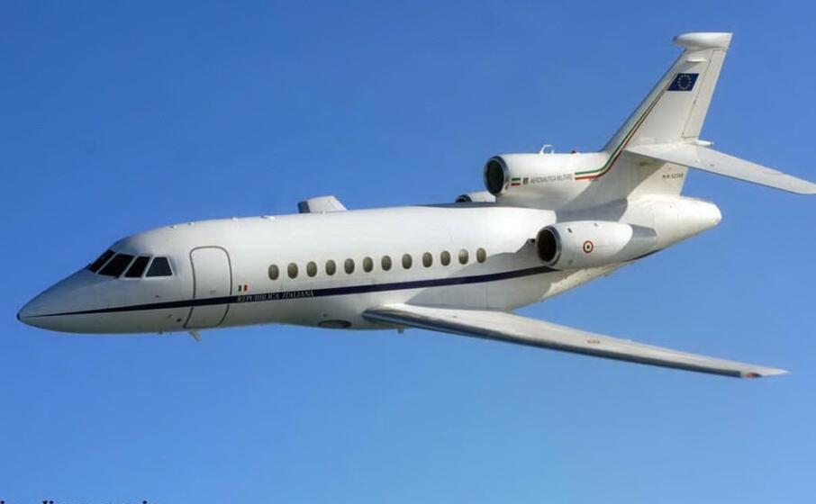 un immagine di repertorio dell aeronautica (foto twitter)