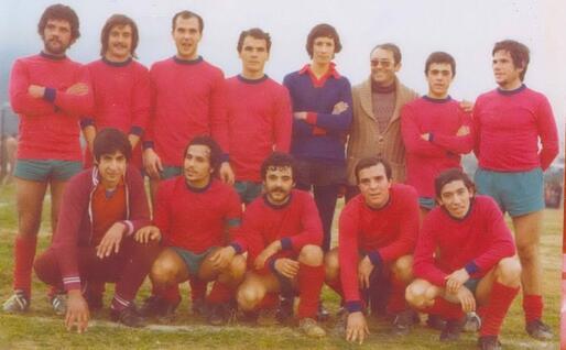 Una formazione del Picchi Jerzu anni 70 (foto Ogliastra calcio)