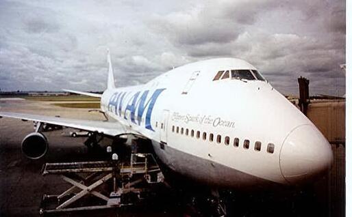Il Boeing della Pan Am della strage di Lockerbie (da Wikimedia)