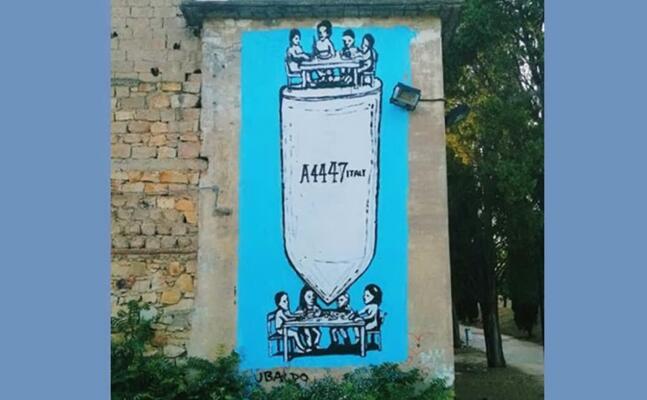 il murale (foto farris)
