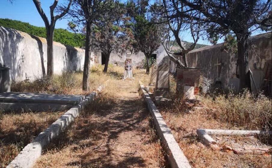 il cimitero dell asinara (l unione sarda pala)