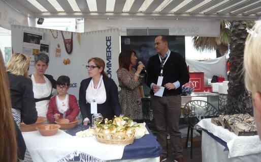 Un momento della giornata (foto L'Unione Sarda - Serreli)