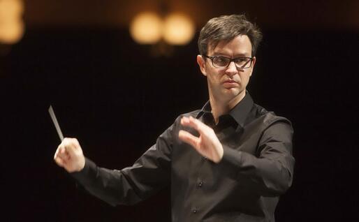 Cristiano Del Monte (foto Priamo Tolu concessa dal Teatro Lirico)