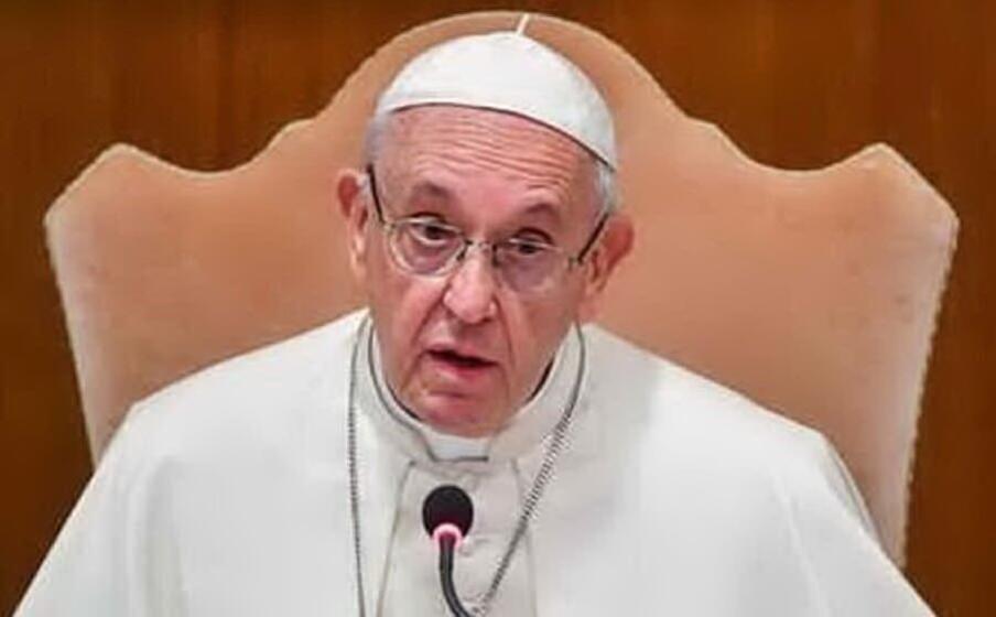 papa francesco (archivio l unione sarda)