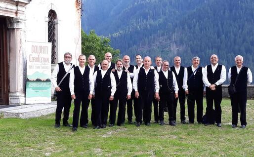 I coristi (foto inviata dal lettore)