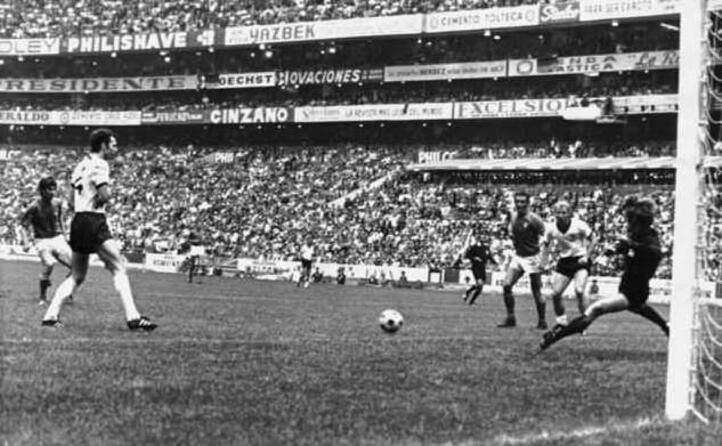il gol di gianni rivera nella storica semifinale