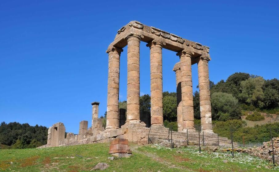 il tempio di antas (archivio l unione sarda)