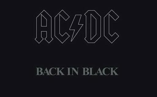 La copertina del disco Back in black
