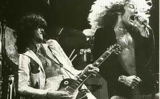 Robert Plant e Jimmy Page (archivio Us)