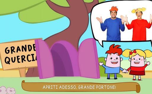 Un'altra immagine dal cartone animato