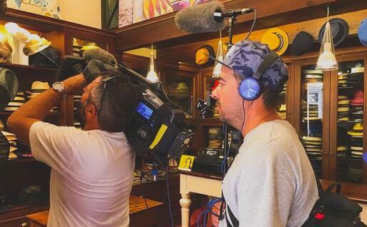 Un'immagine dalle riprese (foto ufficio stampa)