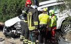 l estrazione di uno dei conducenti (foto vigili del fuoco)