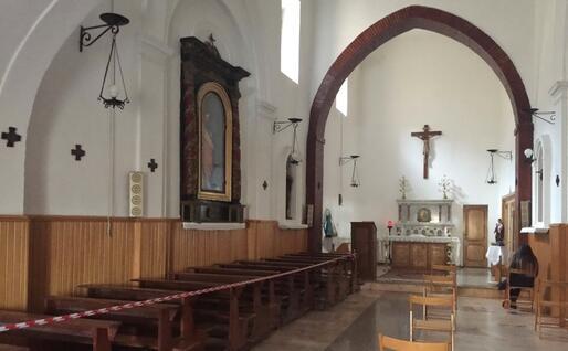 La chiesa delle Serve del Signore e della Vergine di Matarà (Foto L'Unione Sarda - Patrizia Mocci)
