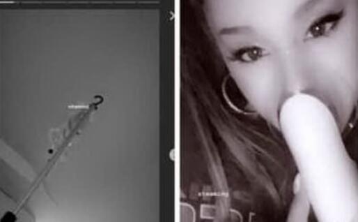 Alcune delle immagini postate su Instagram da Ariana Grande