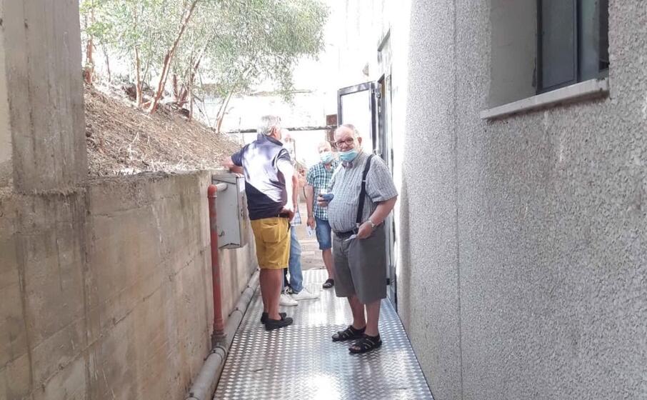 l ingresso dell ambulatorio (foto e sanna)