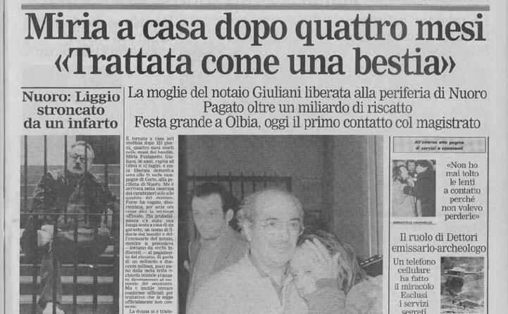 la liberazione a novembre 1993