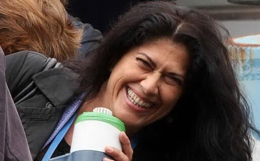 Rosi Mauro durante una manifestazione (Ansa)
