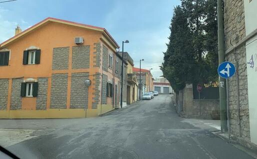 Il centro abitato (foto Severino Sirigu)